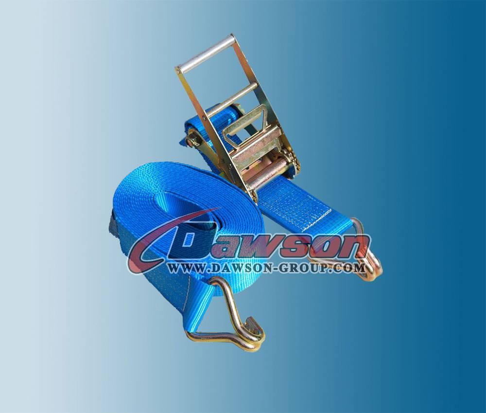European Standard 10000kg X 8m Ratchet Strap Slackline Set