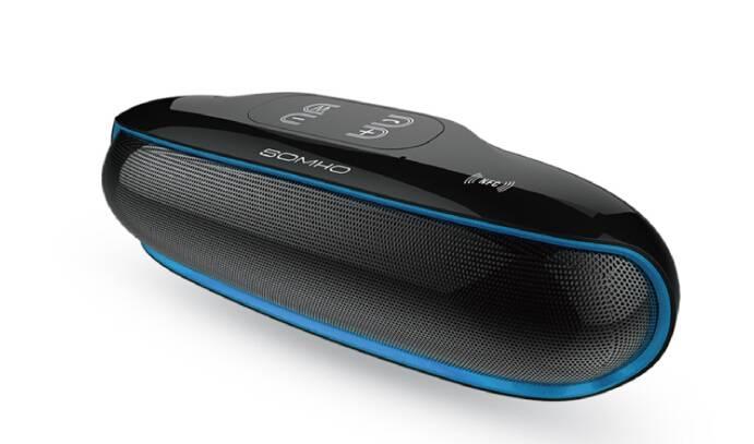 Shenzhen RoHS certification bluetooth rechargeable speaker manufacturer, outdoor bluetooth speaker p