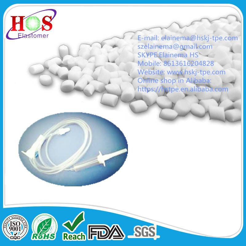Best selling rubber TPE pellet for medical tubing