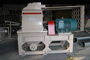 Wood flour machine for incense