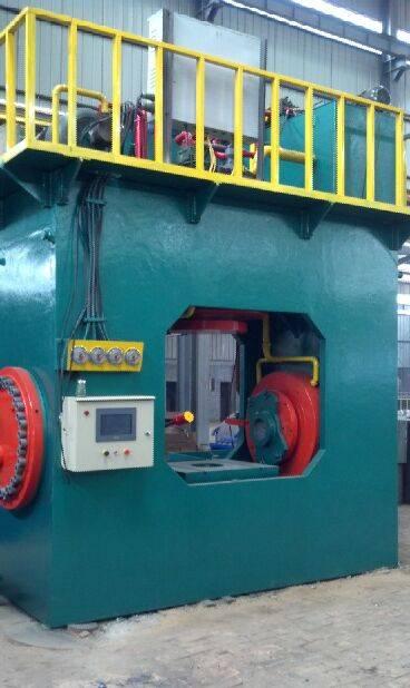 hydraulic tee machine