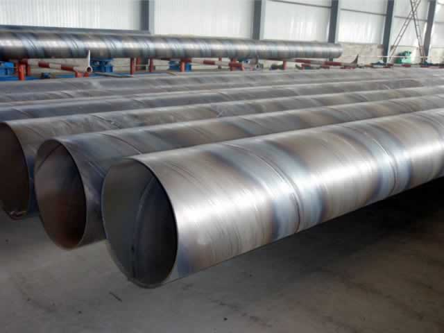wholesale SSAW spiral welded steel pipe for water oil gas pipeline construction
