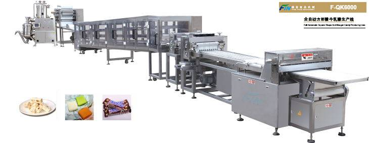 Full Automatic Nougat Production Line