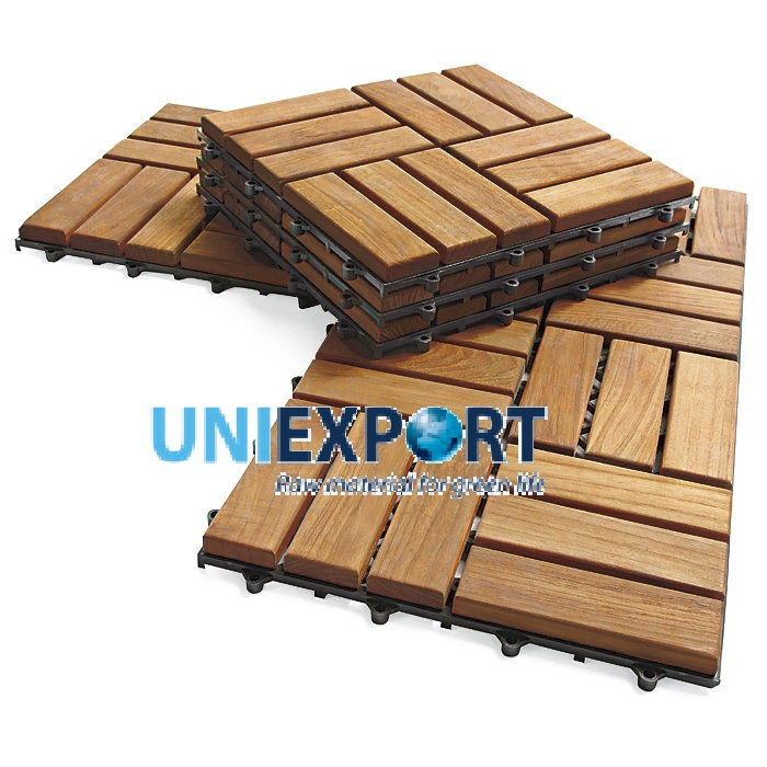 FSC Wood 300 x 300 Deck Tile