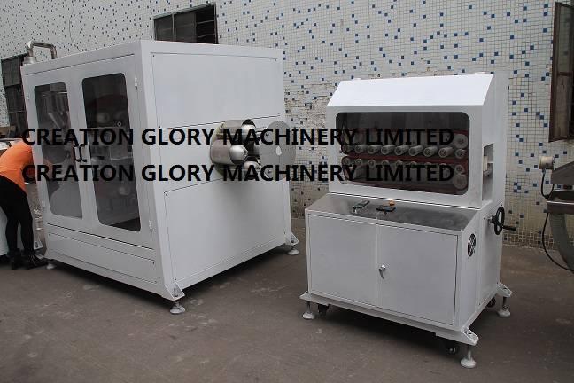600 type haul off unit for plastic extrusion line