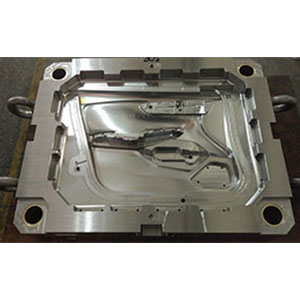 Automotive door mould machining cavity