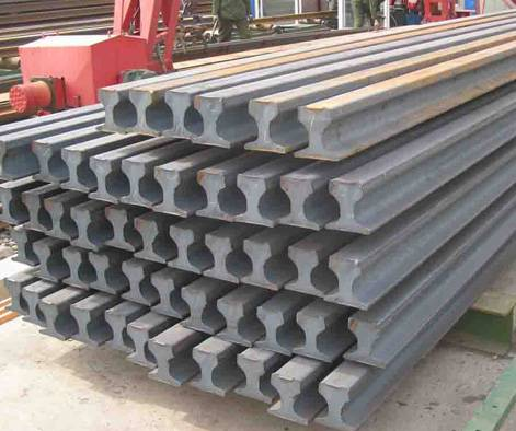 light heavy steel rails ASTM 71Mn 55Q