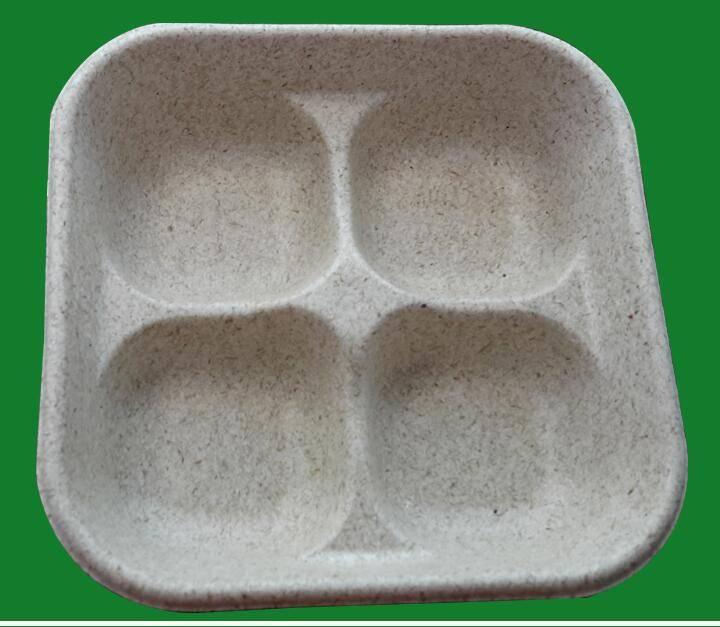 Cake boxes with insert, custom 100% straw fiber food inner packaging