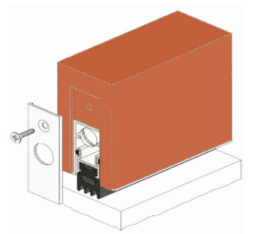 Acoustic Door Botto Seal - Heavy