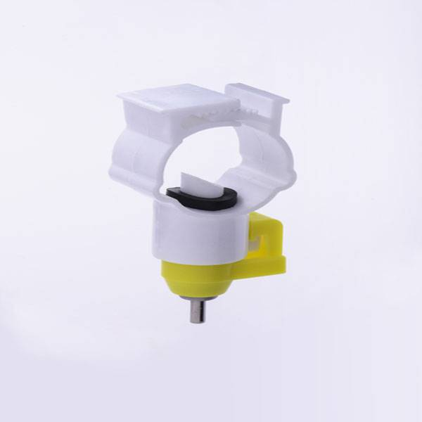 Stainless Steel &Plastic Automatic Chicken Water Drinker For Poultry Farm