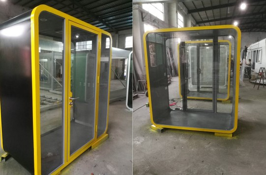 Chinese factory price Double Privacy Pod