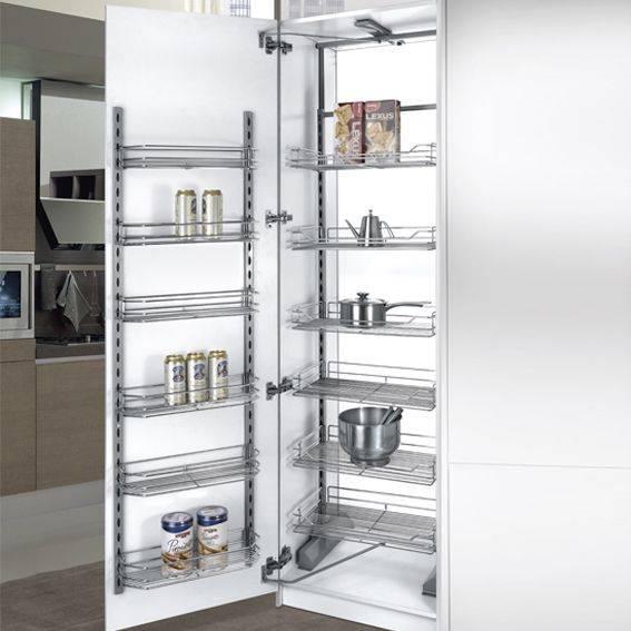 Multi-tier Kitchen Larder Unit with Single Door