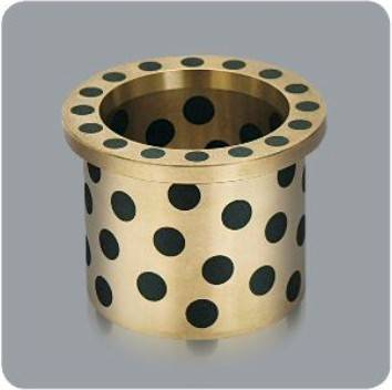 CHB-JDBB Oilless Flange bronze Bushing with graphite
