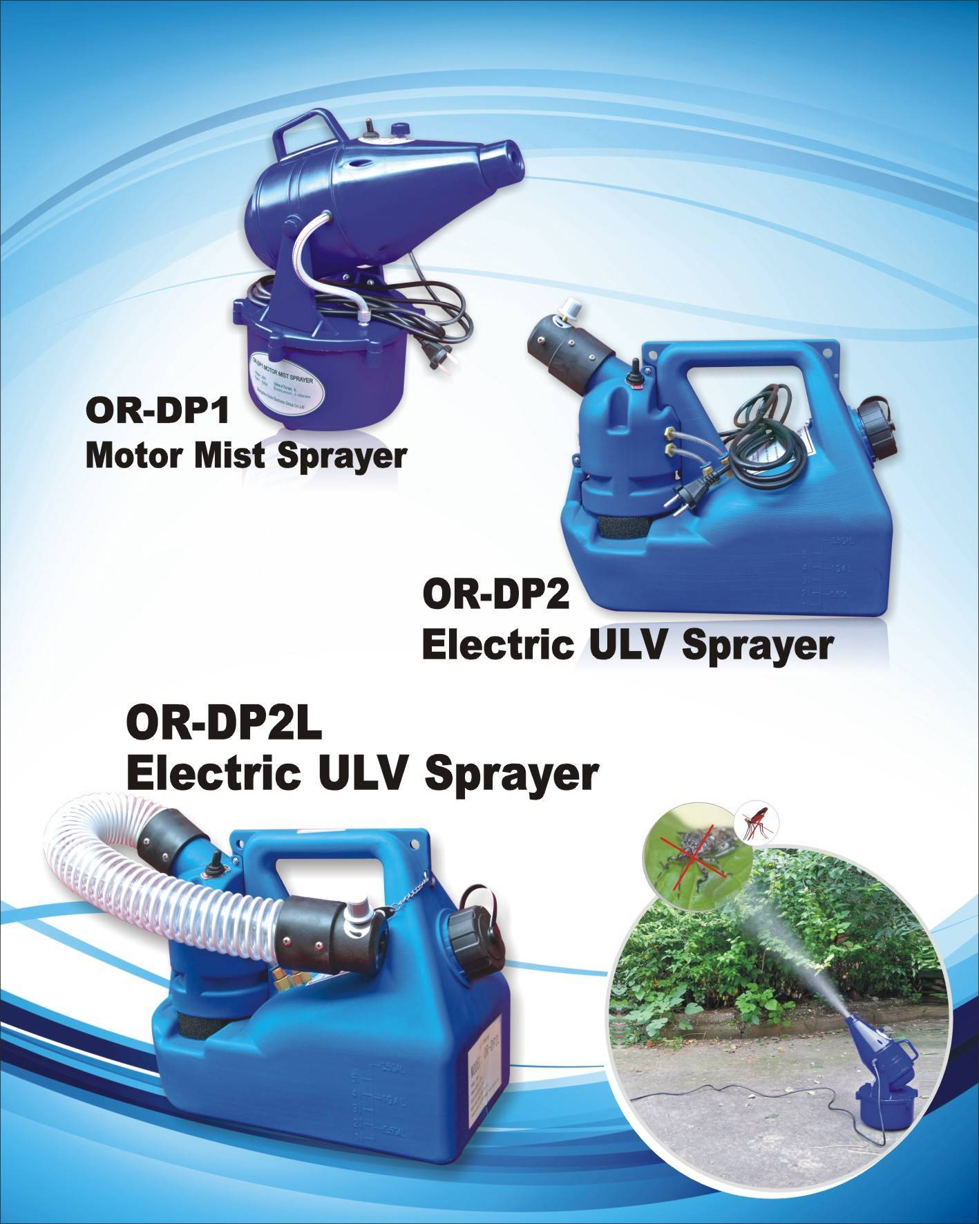 ULV fogger(OR-DP1 Power Sprayer) Mosquito Fogger ULV Insect Killer Insect Mosquito killer