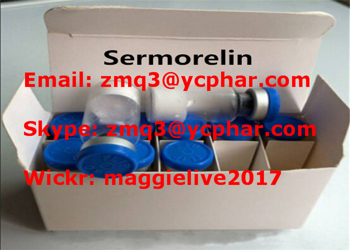 Sermorelin Acetate SARMs Steroids For Anti Aging Human Growth Hormone