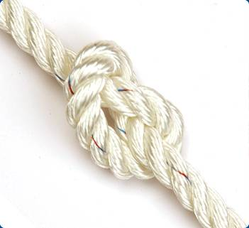 polyester rope/3 strands polyester rope /diamond braided pp/ polyester rope