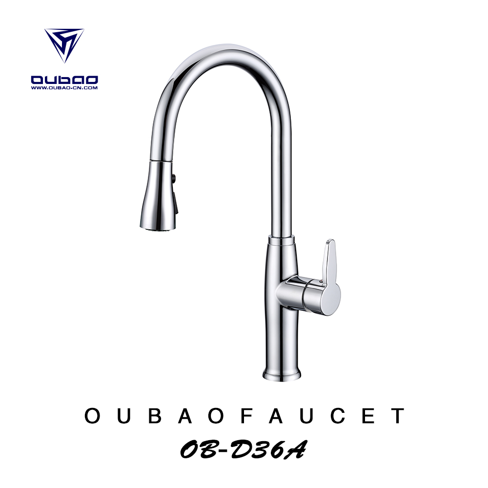 Fitted Kitchens Long Neck Kitchen Faucet Kitchen Mixer Faucets OB-D36A
