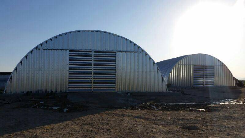 STEEL HANGAR BUILDINGS