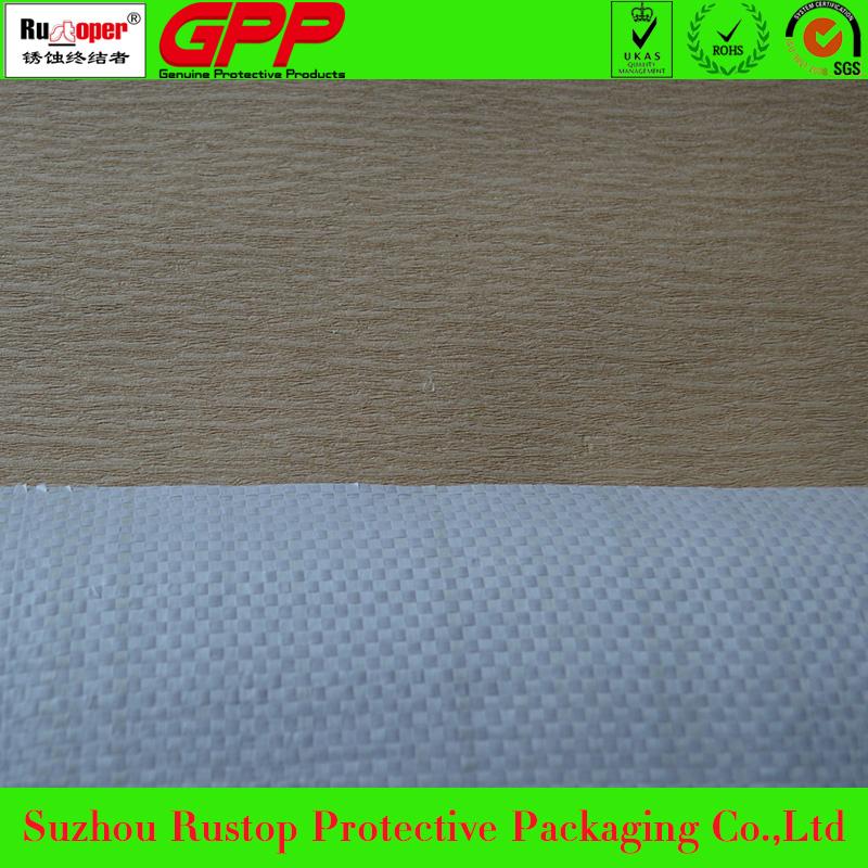 VCI crepe paper woven lamination