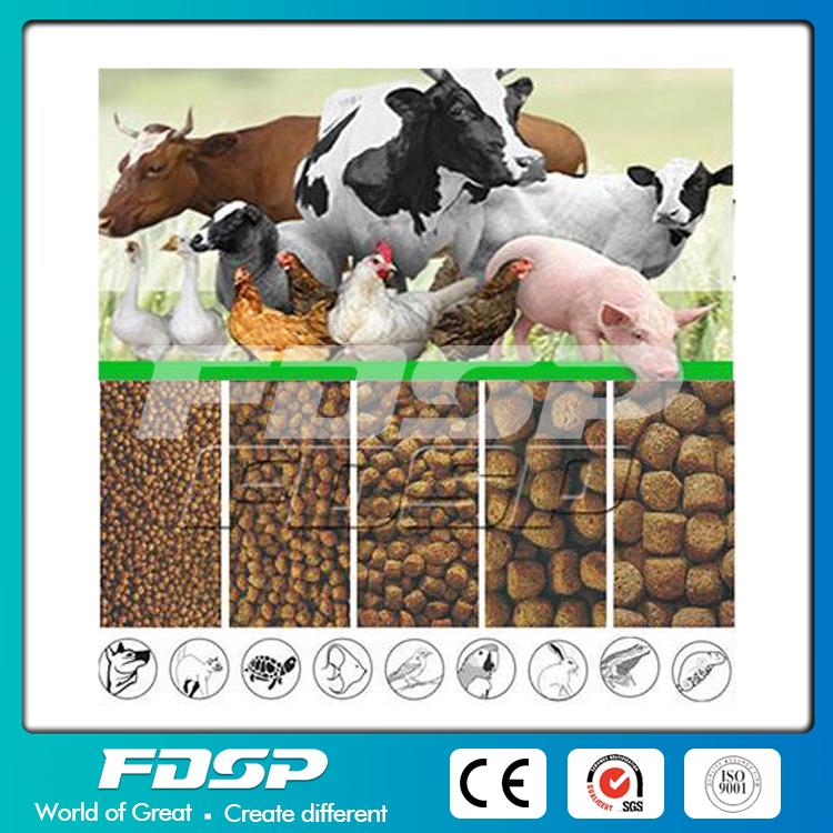 Farm Used Sheep Feed Production Line