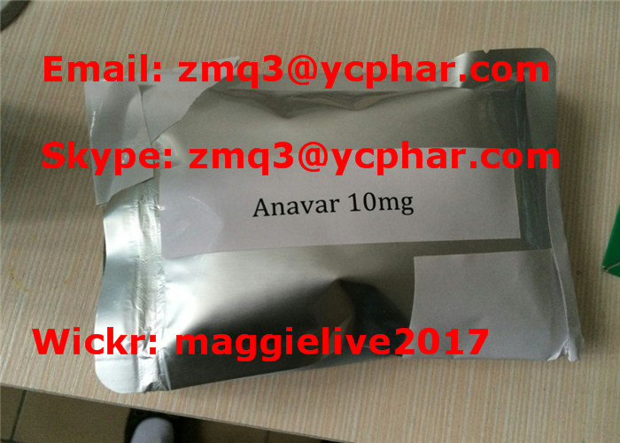 Powerful Fat Burning Anabolic Steroid Oxandrolone Anavar 53-39-4