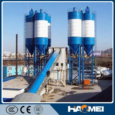 Quick Concrete Batching Plant HZS180 With High Efficiency