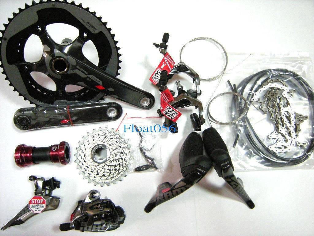New, 2014 Sram RED 22 Groupset, 5339T 172.5mm Crankset, 1125T Cassette