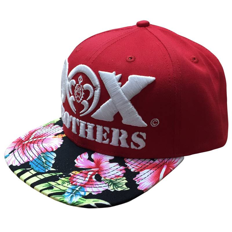 Brand hip hop cap digital printing Flat bill hip hop baseball cap 3d embroidered skateboard cap hat