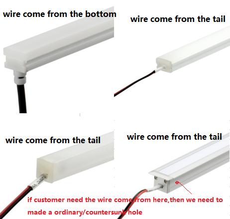 led linear light/ mini led tube light led bar