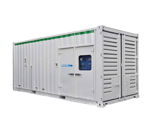 Container Type 1200KVA Generator Sets Powered by CUMMINS