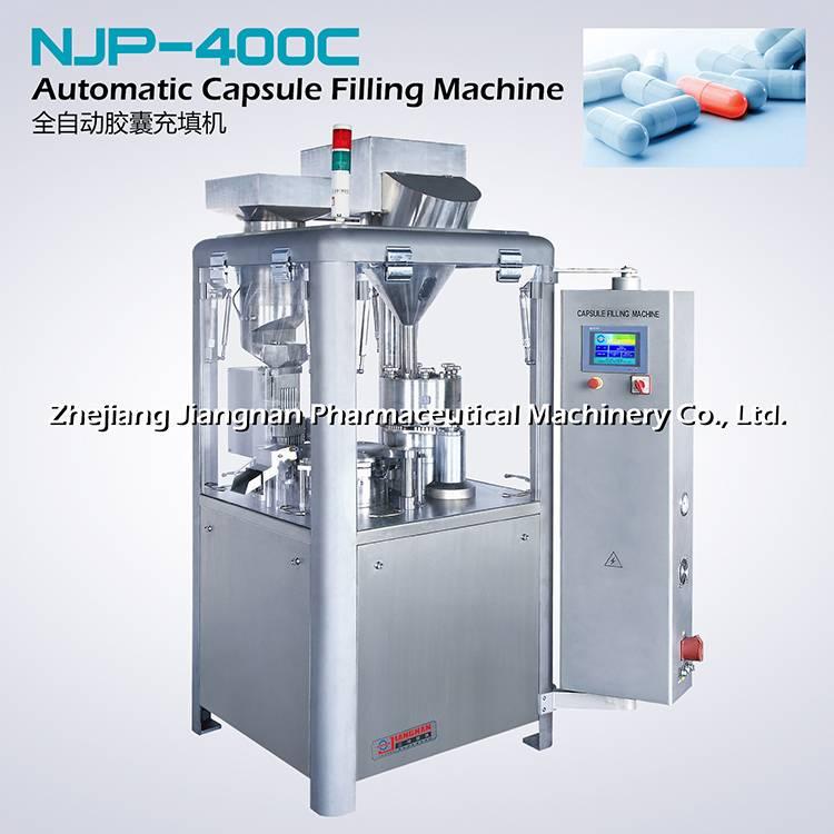 Automatic capsule filling machine NJP-400