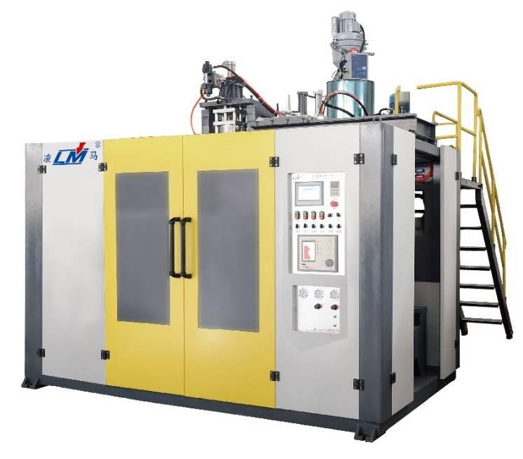 hdpe extrusion blow molding machine (QCM-75-85/12L)