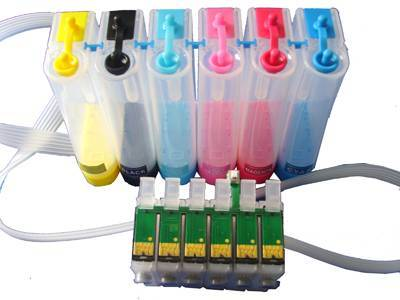 CISS(continuous ink supply system) for EPSON Artisan 50/R260/R280/R380/RX580/RX680/RX595