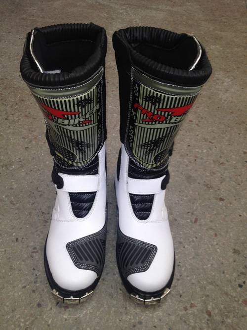 Spring,Autumn,Summer,Winter Rubber Outsole Material Motorcycle Sports Boots