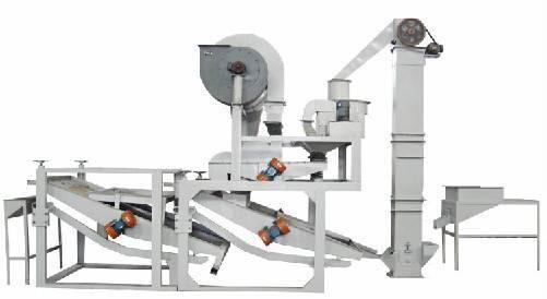 Oats Dehulling & Separating Equipment