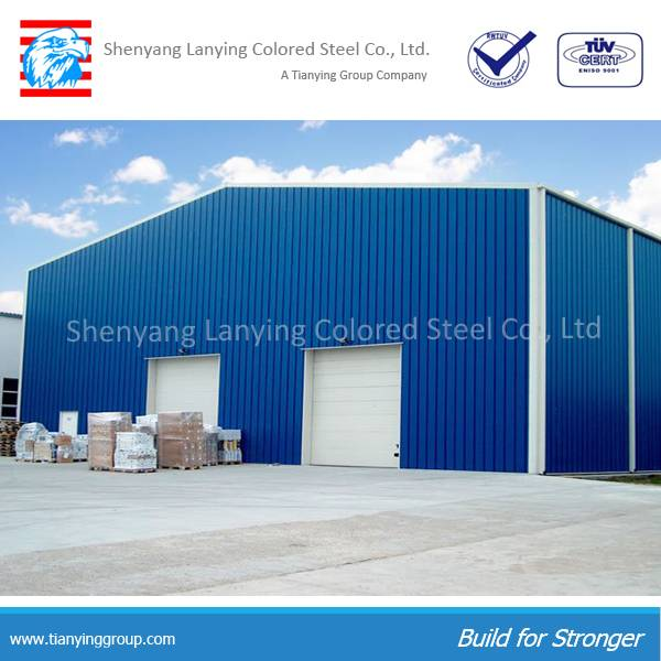 Competitive prefabricated steel frame workshop made of steel structure