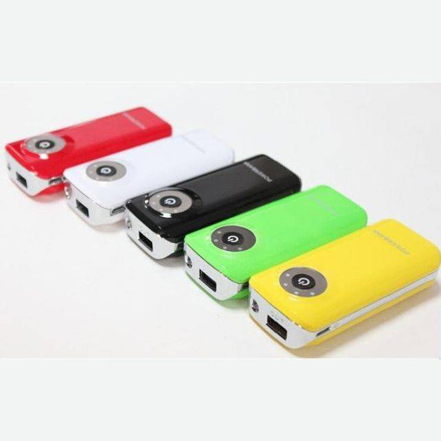 4000mAh Colorful Power Bank with CE RoHS FCC (WY-PB01