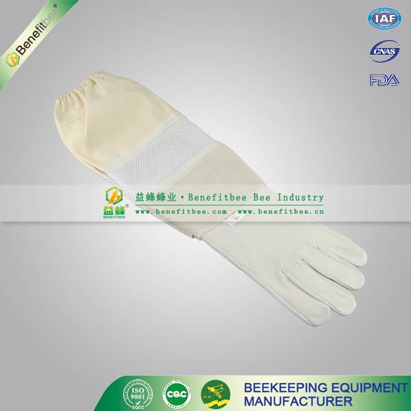 china bee glove supplier hand protective beekeeping glove