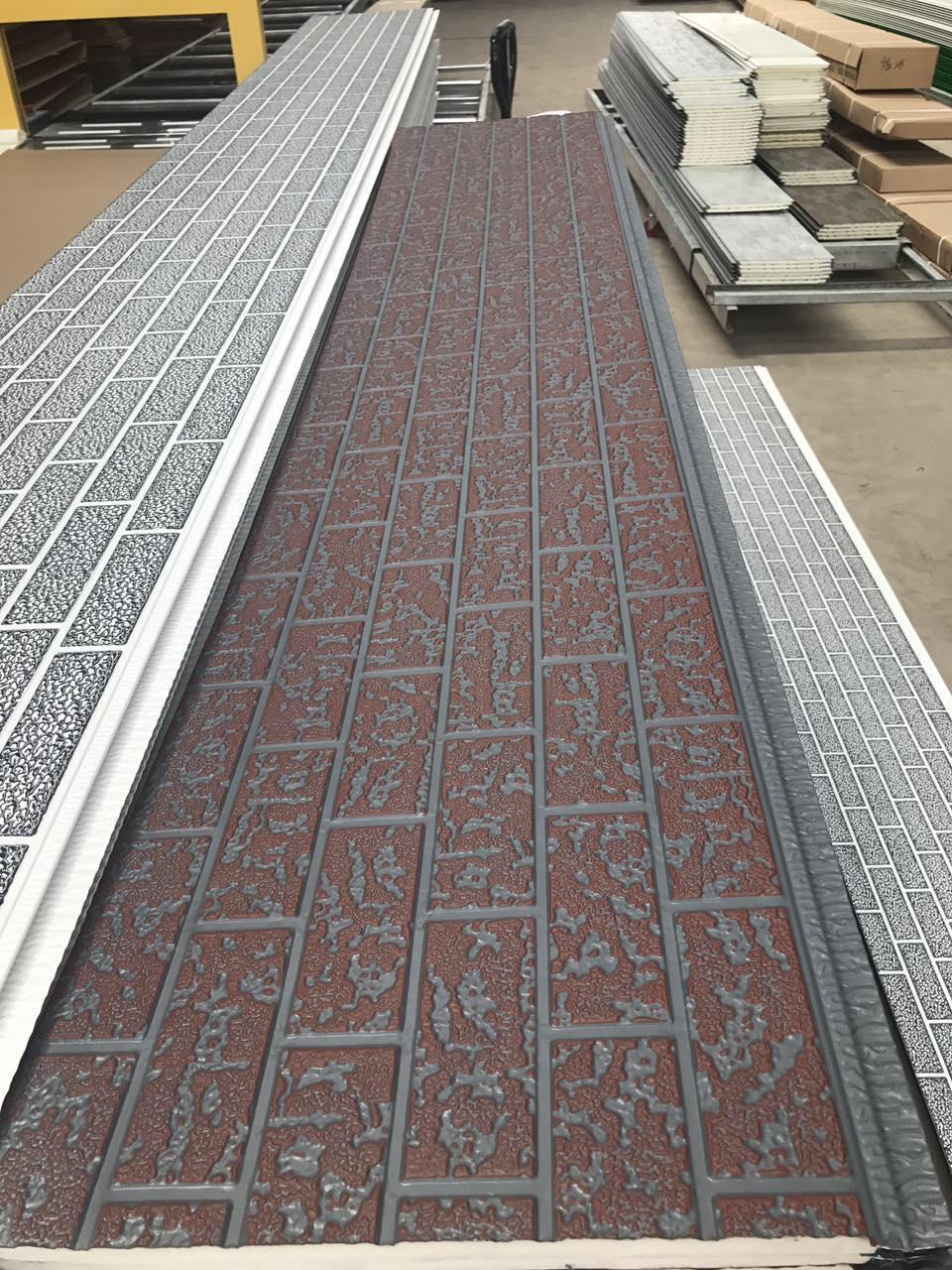 Factory sale Faux stone PU foaming Exterior wall panels Aluminum composite panel for building