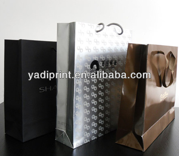 Design Recyclable Shopping Paper Bags Wholesale
