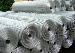 pvc coated 1/4 inch galvanized welded wire mesh