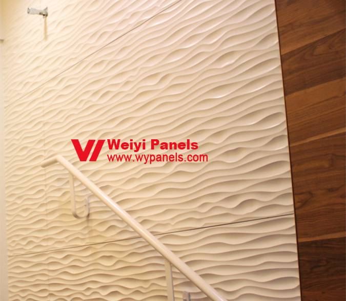 MDF Wave Boards- Decorative Wall Panels WY-172