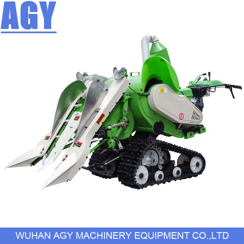 Agy 05d Diesel Engine Hand Pusing Mini Price Of Rice Harvester