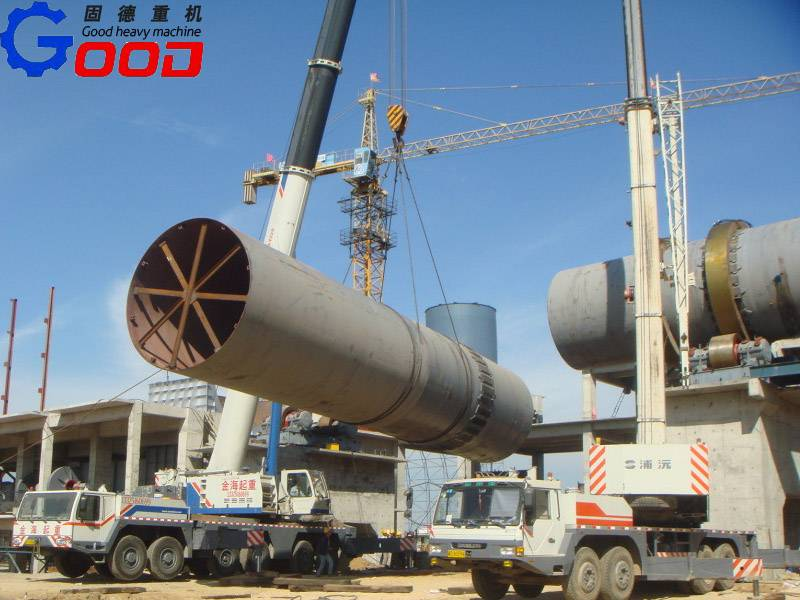 calcination rotary kiln for bauxite