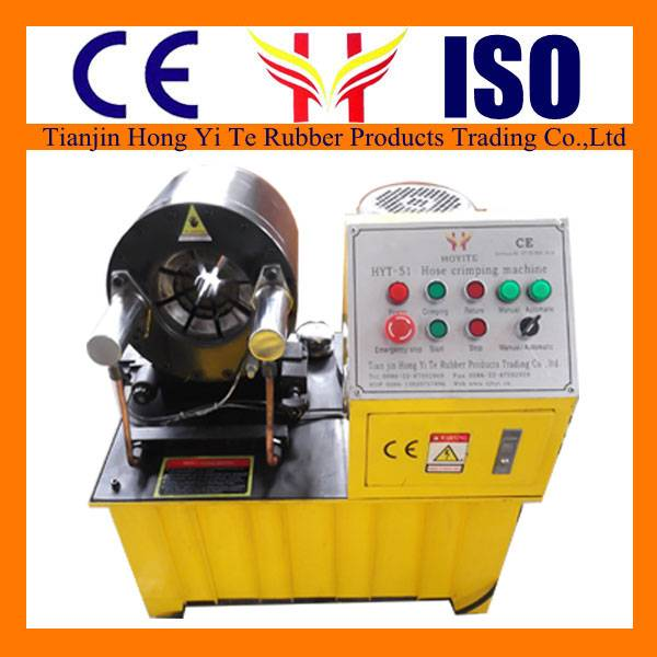 Hydraulic hose crimping machine / hose crimping tool for sale