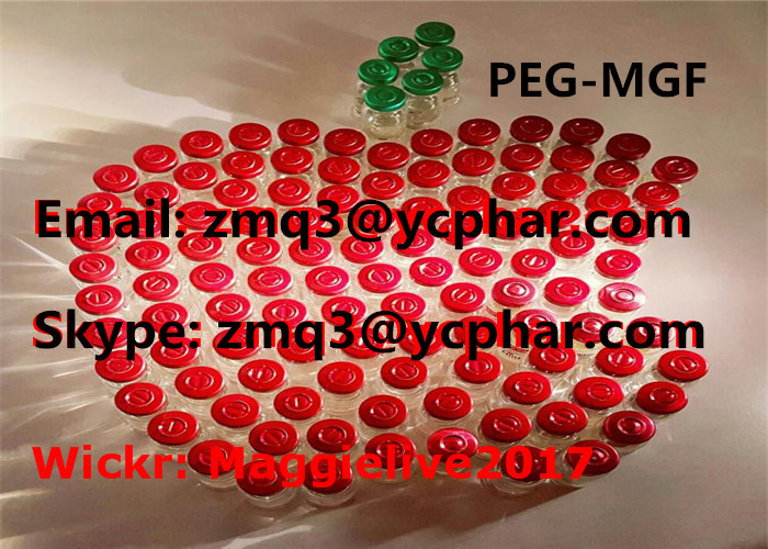 Peptides Supplements Bodybuilding PEG MGF 2mg/Vial No Side Effect For Human Growth