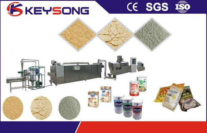 100-150kg/h Nutritional baby food production line / modified starch
