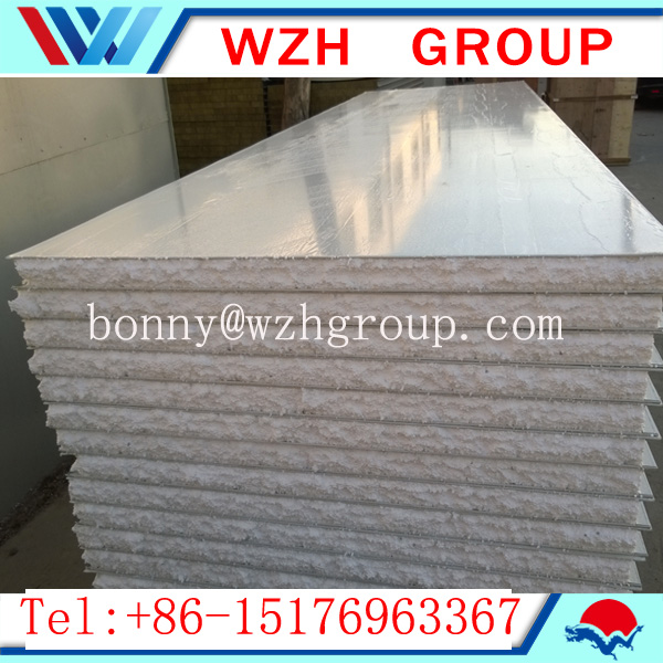 High quality cleanning project eps foam sandwich panel