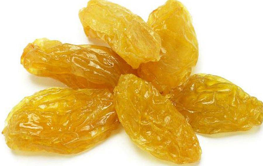 Golden Raisin from Iran, Top Grade