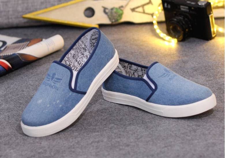 2016 Casual Denim Shoes Men Women Footwear Shoes